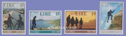 EIRE IRELAND 1981  AN OIGE  YOUTH HOSTELS ANNIVERSARY  S.G. 493-496 U.M. - Nuovi