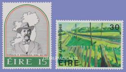 EIRE IRELAND 1981  O'DONOVAN ROSSA & IRISH ART  S.G. 497-498 U.M. - Nuovi