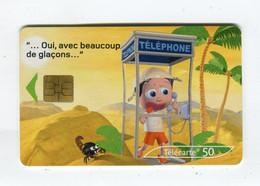 Telecarte 50u °_ 1260C-Critiques 3-Désert-So3-02.03-1023- R/V - 50 Unità
