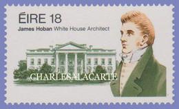 EIRE IRELAND 1981  HOBAN WHITE HOUSE ARCHITECT  S.G. 499 U.M. - Nuovi