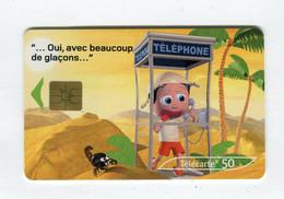 Telecarte 50u °_ 1260M-Critiques 3-Désert-So3-07.03-8781- R/V - 50 Unità