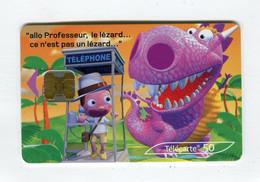 Telecarte 50u °_ 1262-Critiques 4-Jungle-Ob-10.02-0077 Gras- R/V - 50 Unità