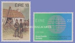 EIRE IRELAND 1981  DIFFERENT ANNIVERSARIES  S.G. 508-509  U.M. - Nuovi