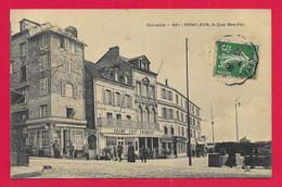 CPA Honfleur - Le Quai Beaulieu - Honfleur