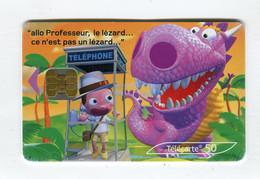 Telecarte 50u °_ 1262B-Critiques 4-Jungle-Ob2-02.03-1608 Haut- R/V - 50 Unità