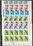 1965 Fauna - Song BIRDS 8v.- MNH  X 10  Bulgaria / Bulgarie - Ungebraucht