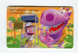 Telecarte 50u °_ 1262F-Critiques 4-Jungle-Gem2-05.03-0419 Haut- R/V - 50 Unità