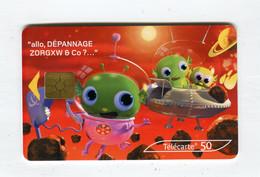 Telecarte 50u °_ 1264D-Critiques 5-Mars-Gem2-03.03-1939 Haut- R/V - 50 Unità