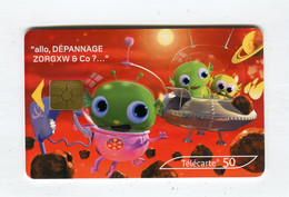 Telecarte 50u °_ 1264F-Critiques 5-Mars-Gem2-05.03-1856 Penché- R/V - 50 Unità