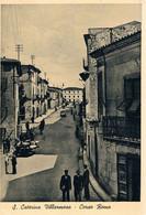 B4922 - S. Caterina Villarmosa, Corso Roma, Viaggiata 1956 F. G. - Caltanissetta