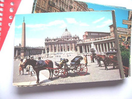 Vaticaanstad Italië Paard En Wagen (K) - Vaticano