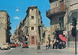 B4925 - Riesi, Via Restivo Gallo, Viaggiata 1978 F. G. Colore - Caltanissetta