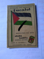 Saudí Arabia.cromo(2) No Postcard.eucalol Soap.the Flag.arab House In La Mecca.better Condition 1950 - Arabie Saoudite