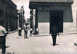 B4926 - Riesi, Banco Di Sicilia Via Roma, Non Viaggiata F. G. - Caltanissetta