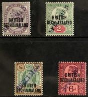 "1891 Queen Victoria Set To 6d Ovptd In Capitals, Ovptd ""Specimen"" Diagonally In Violet, SG 33s/36s, Very Fine Mint. (4 S - Unclassified"