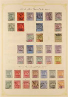 1900-51 MINT & USED COLLECTION Neatly Arranged On Album Pages, We See 1900-07 To 48c Mint, 1905-07 Values To 96c Used An - British Guiana (...-1966)