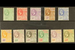 1921-27 KGV Definitive Set, MSCA Wmk, SG 272/82, Very Fine Mint (11 Stamps) For More Images, Please Visit Http://www.san - British Guiana (...-1966)