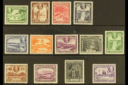 1934-51 Pictorial Definitive Set, SG 288/300, Very Fine Mint (13 Stamps) For More Images, Please Visit Http://www.sandaf - British Guiana (...-1966)
