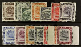 1947-52 Definitive Set Complete, SG 79/92, Very Fine Mint. For More Images, Please Visit Http://www.sandafayre.com/itemd - Brunei (...-1984)