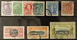 1905 Complete Pictorial Set Without Overprint, Michel 19/27, Very Fine Used. (9 Stamps) For More Images, Please Visit Ht - Unclassified