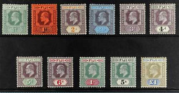 1903 Complete Set, SG 104/14, Fine Mint, Fresh. (11 Stamps) For More Images, Please Visit Http://www.sandafayre.com/item - Fiji (...-1970)