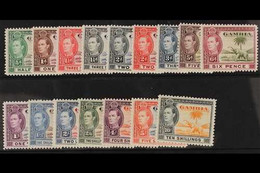 1938-46 Complete Elephant Pictorial Set, SG 150/161, Fine Mint. (16 Stamps) For More Images, Please Visit Http://www.san - Gambia (...-1964)