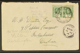 OCEAN ISLAND 1914-38 COVERS An Attractive Group Bearing KGV Frankings, Incl. 1914 ½d Pair On Printed Envelope, Protecto - Gilbert & Ellice Islands (...-1979)