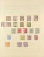 1884-1935 VERY FINE MINT COLLECTION On Leaves With 1884-91 Set To 1s Plus Shades Of 1d, 2d, 4d And 1s, 1898-1902 Set To  - Gold Coast (...-1957)