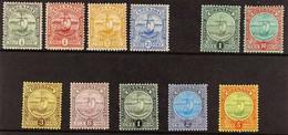 1906 - 11 Badge Of The Colony 1906 MCA Wmk, 1908 CA Wmk & 1908-11 MCA Wmk Sets Complete, SG 77/88, Very Fine Mint. (11 S - Grenada (...-1974)