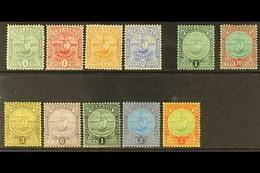 1906-11 Complete Badge Set, SG 77/88, Fine Mint. (11 Stamps) For More Images, Please Visit Http://www.sandafayre.com/ite - Grenada (...-1974)