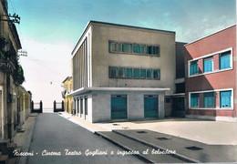 B4933 - Niscemi, Cine Teatro Gogliani E Ingresso Al Belvedere, Viaggiata 1956 F. G. - Caltanissetta