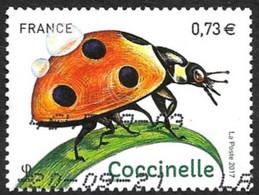FRANCE 2017  -  Y&T  5147  -  Coccinelle -  Oblitéré - Gebruikt