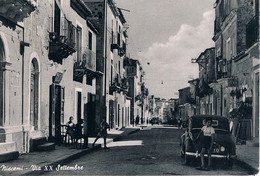 B4935 - Niscemi, Via XX Settembre, Viaggiata 1957 F. G. - Caltanissetta