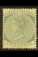 1883-97 2d Grey, SG 20, Mint With Good Colour And Perfs, Part Gum. For More Images, Please Visit Http://www.sandafayre.c - Jamaica (...-1961)