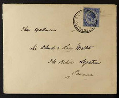 """1916 COVER TO PANAMA Addressed To """"Their Excellencies Sir Claude & Lady Mallet"""" At The British Legation, Panama, Bearing - Jamaica (...-1961)"""