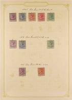 1874-1906 ATTRACTIVE MINT COLLECTION On Pages, Includes 1874-75 Set To 4d, Plus 6d Unused, 1876-79 1d & 2d, Plus 6d Unus - Nigeria (...-1960)