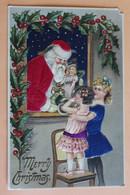 Merry Christmas - Gauffrée - Santa Claus