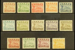 """1924-34 """"Freighter"""" Complete Set On Rough Surfaced Greyish Paper, SG 26A/39A, Fine Mint. (14 Stamps) For More Images, Pl - Nauru"""