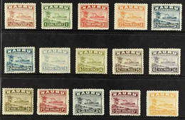 1924-34 Century Freighter Set & 2½d Shade, Greyish Paper, SG 26A/39A, Fine Mint (15 Stamps) For More Images, Please Visi - Nauru