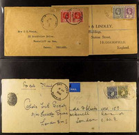 """1918-1965 COVERS - """"A"""" TOWNS COLLECTION. An Extensive Collection Of Commercial Covers, Postal Stationery Covers, Registe - Nigeria (...-1960)"""