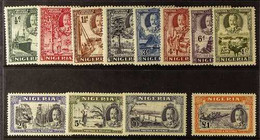 1936 KGV Complete Pictorial Set, SG 34/45, Very Fine Mint. (12 Stamps) For More Images, Please Visit Http://www.sandafay - Nigeria (...-1960)