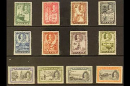 1936 Pictorials Complete Set, SG 34/45, Fine Mint, Very Fresh. (12 Stamps) For More Images, Please Visit Http://www.sand - Nigeria (...-1960)
