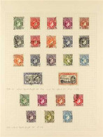 1937-1949 FINE USED COLLECTION On Album Leaves With 1938-51 Definitive Set Complete With All The Better Perf Varieties,  - Nigeria (...-1960)