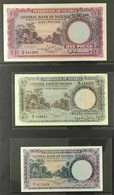 BANKNOTES 1958 5s (very Fine Condition), 10s (good Condition) & £1 (very Fine Condition), Pick 2/4, Circulated. (3 Bankn - Nigeria (...-1960)