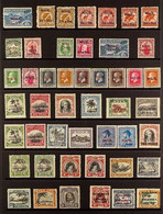 1902-1935 MINT ONLY COLLECTION Presented On A Protective Page That Includes 1903 Set X2, 1917-21 KGV Defin Set, 1920 Pic - Niue
