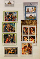 1953-1978 MINT & NHM COLLECTION An ALL DIFFERENT Collection Of Stamp Sets & Miniature Sheets With Values Seen To $10. Lo - Niue