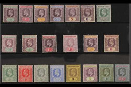 1902-1911 KEVII MINT COLLECTION Presented On A Stock Card That Includes 1902 CA Wmk Range With Most Values To 1s, 1905-0 - Nigeria (...-1960)