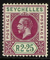 1912-16 2r25c Deep Magenta & Green, MCA Wmk, SG 81, Very Fine Mint For More Images, Please Visit Http://www.sandafayre.c - Seychelles (...-1976)