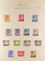 1937-1952 KGVI COMPLETE FINE MINT A Complete Basic Run Including Postage Dues (SG 132/172 & D1/D8), PLUS 1938-39 Definit - Seychelles (...-1976)