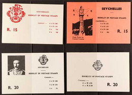 BOOKLETS 1979-80 Booklets Complete SG SB1/SB9, Plus The 1981 Royal Wedding Booklet, Very Fine Condition. (10 Booklets) F - Seychelles (...-1976)